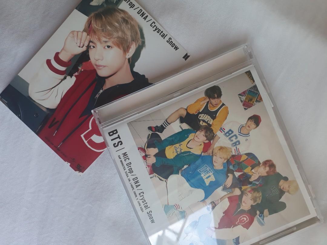BTS MIC DROP/DNA/ CRYSTAL SNOW JAPANESE 8TH MINI ALBUM