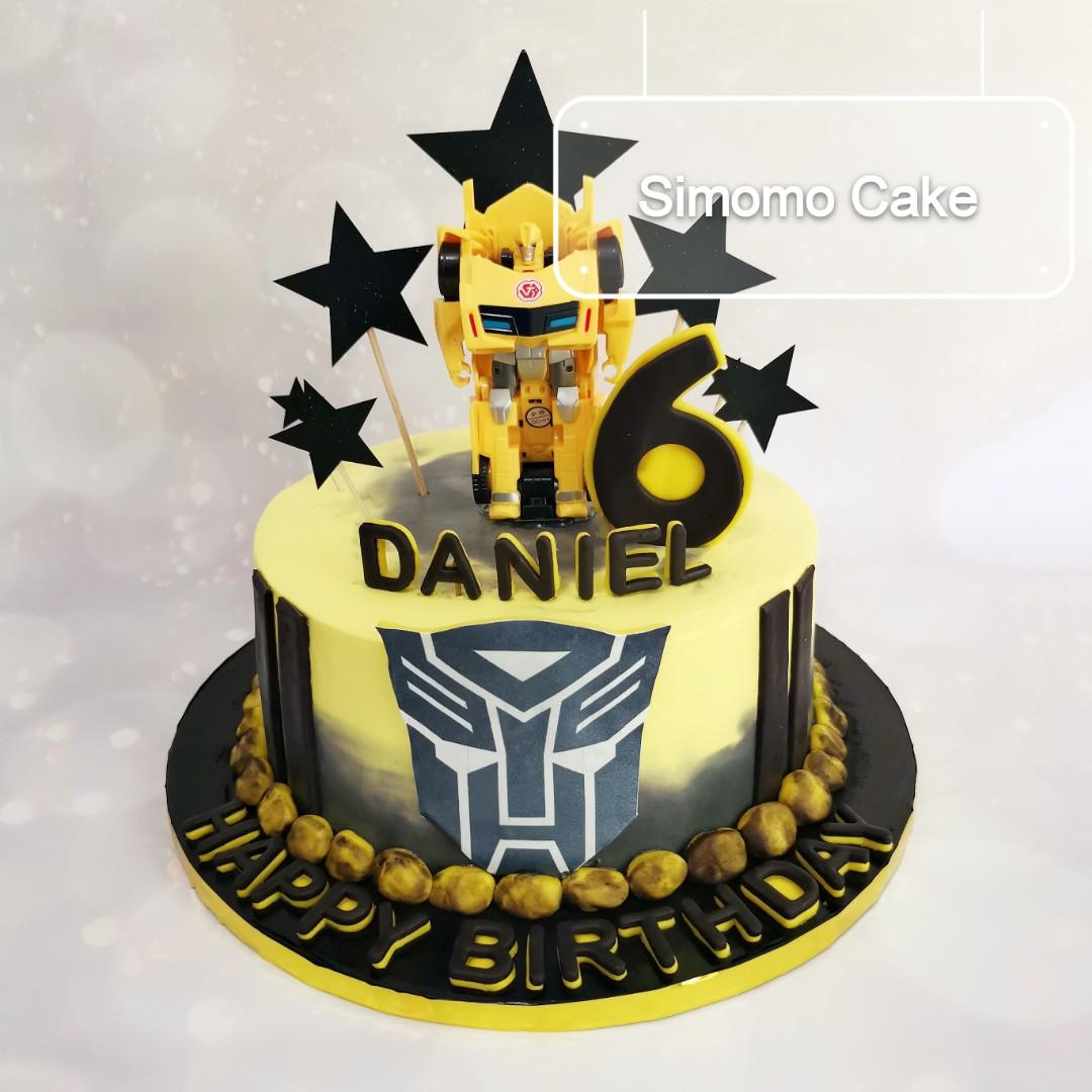 Magnificent Bumblebee Cake Transformers Cake Birthday Cake Free Delivery Funny Birthday Cards Online Inifofree Goldxyz