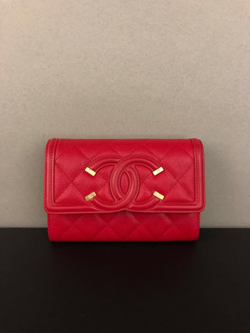 fde11ae9d055 Chanel Vanity Wallet New, Luxury, Bags & Wallets, Wallets on Carousell