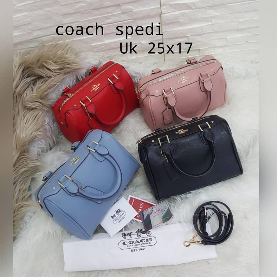 Coach Spedy Bennet Taiga Leather SPA ( Semi Premium Authentic ) UK 25x17cm