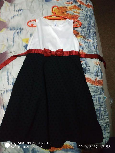 Dress anak size 8