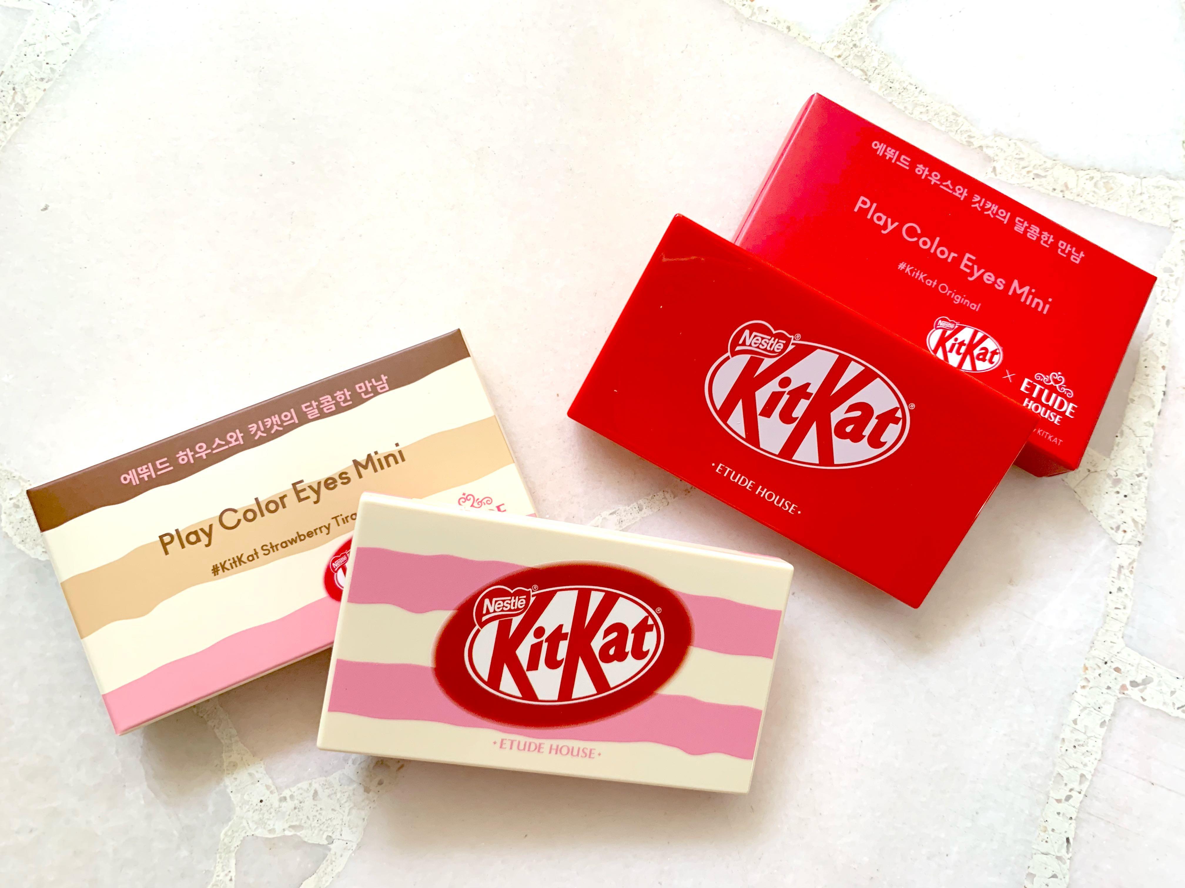 Etude House Kitkat Eye Palette Health Beauty Makeup On Carousell
