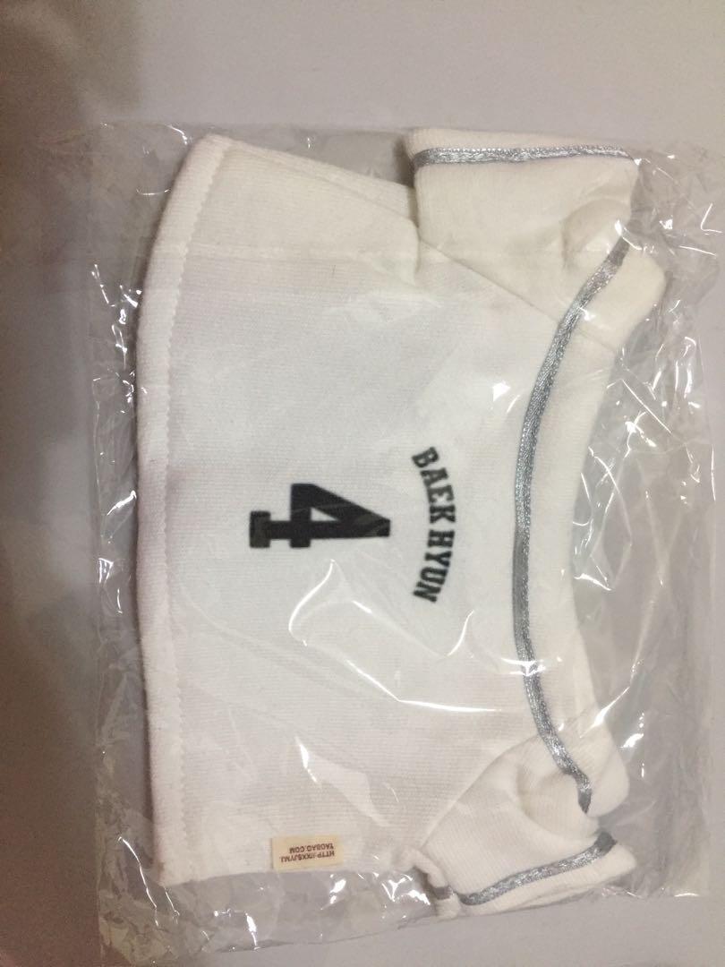 EXO Planet White Baseball Tshirt Baekhyun for 30cm doll