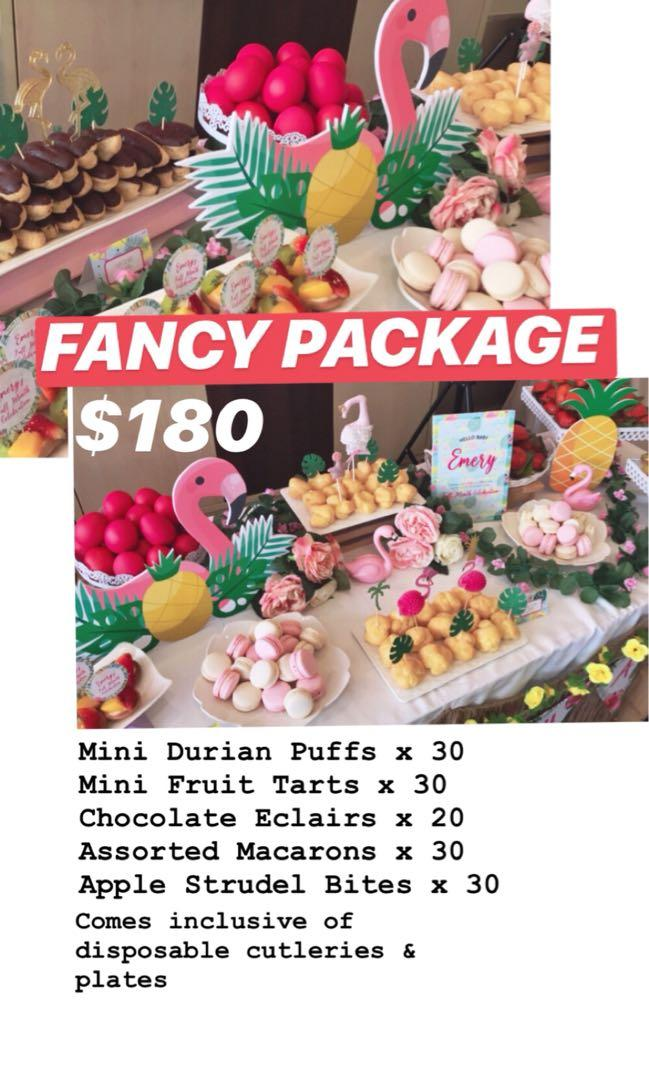Fancy Package (Pastries for DIY Dessert Tables)