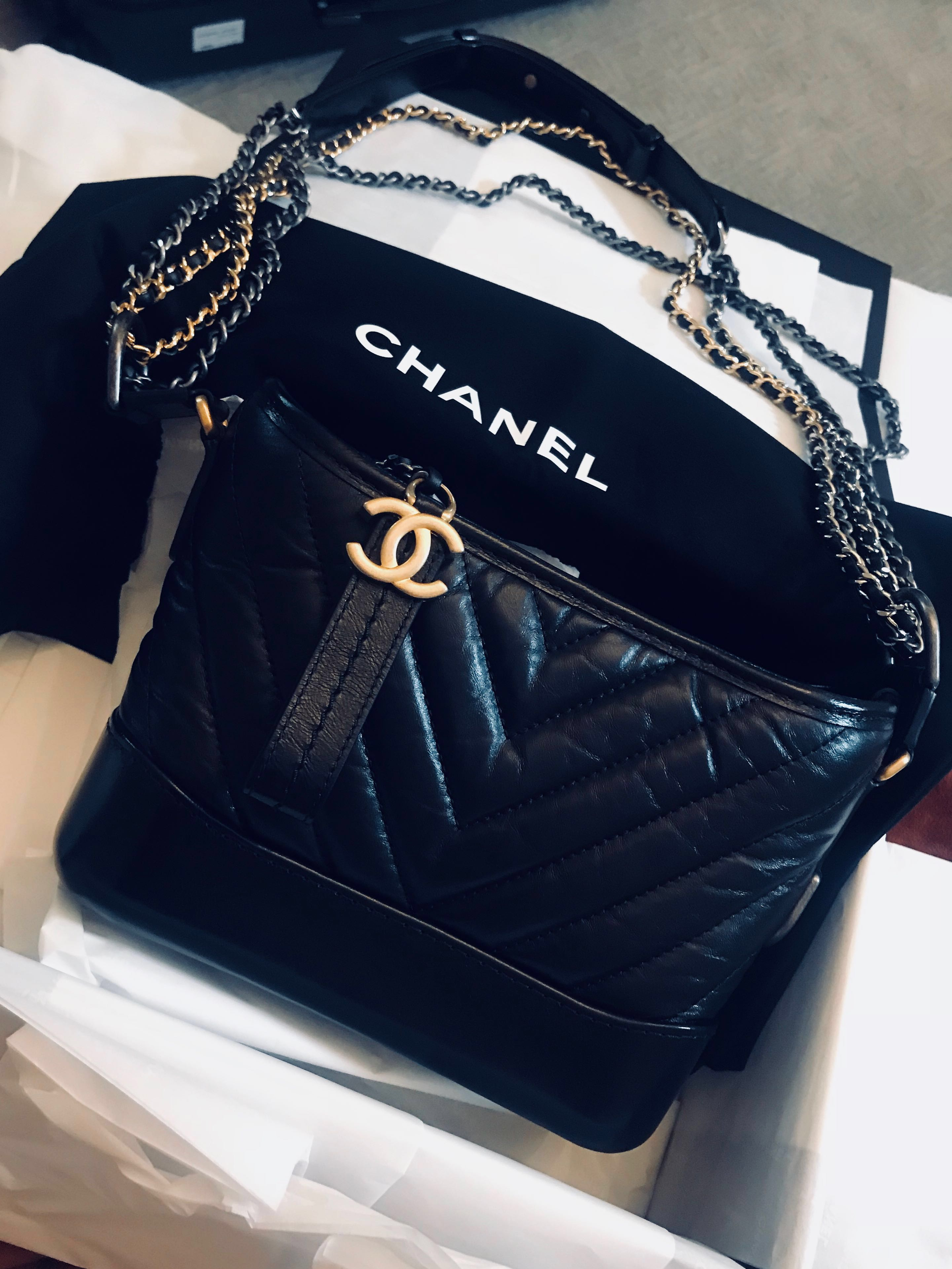 8ce0916356 📌Fast deal $4950 Chanel Gabrielle small bag, Women's Fashion, Bags &  Wallets, Handbags on Carousell