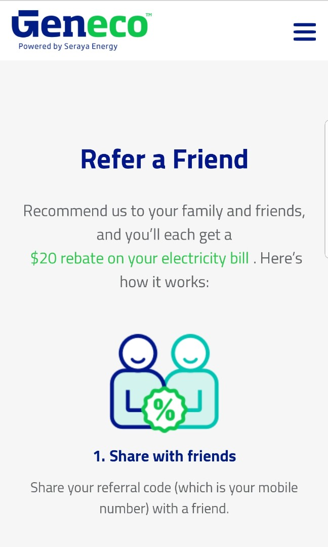 Free $20 and $60 ELECTRICITY - GENECO, Home Appliances