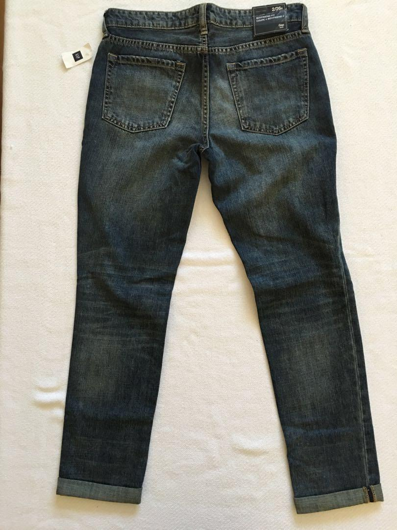 Gap Distressed Boyfriend Jeans - Size 2/26