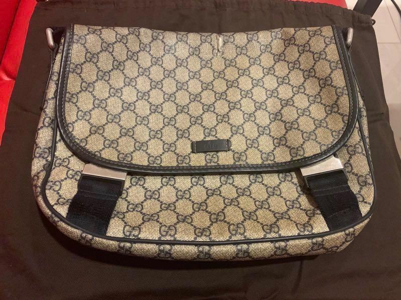 7a5ad857a3a GUCCI classic sling bag