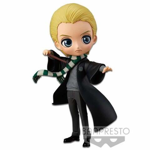 Harry Potter - Draco Malfoy & Ron Weasley Q Posket Figures