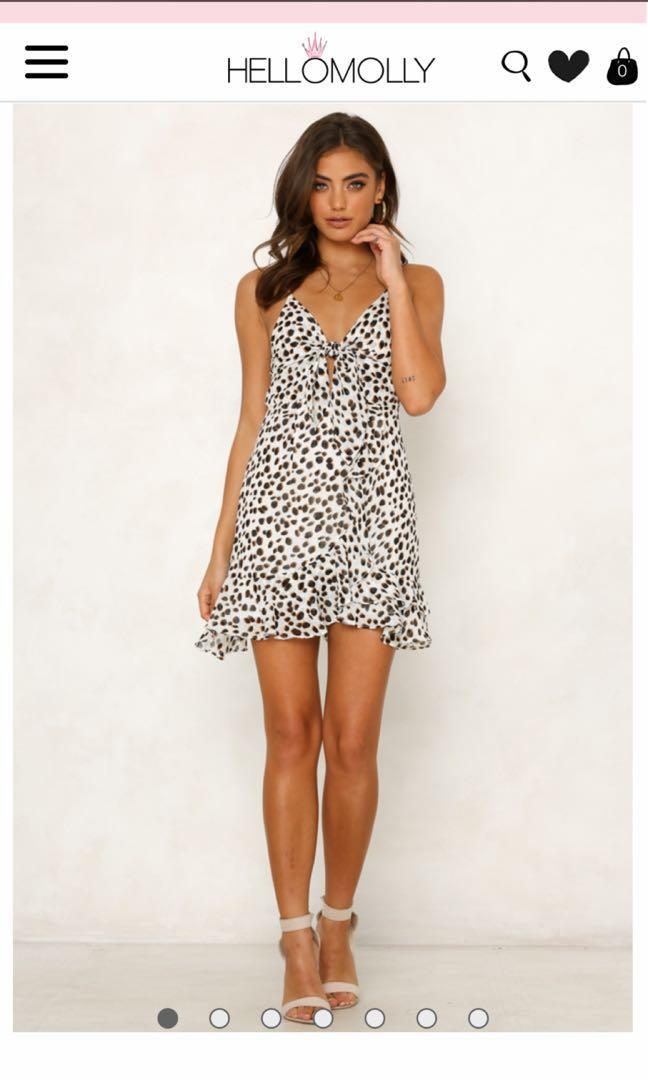 Hello molly leopard print dress 8