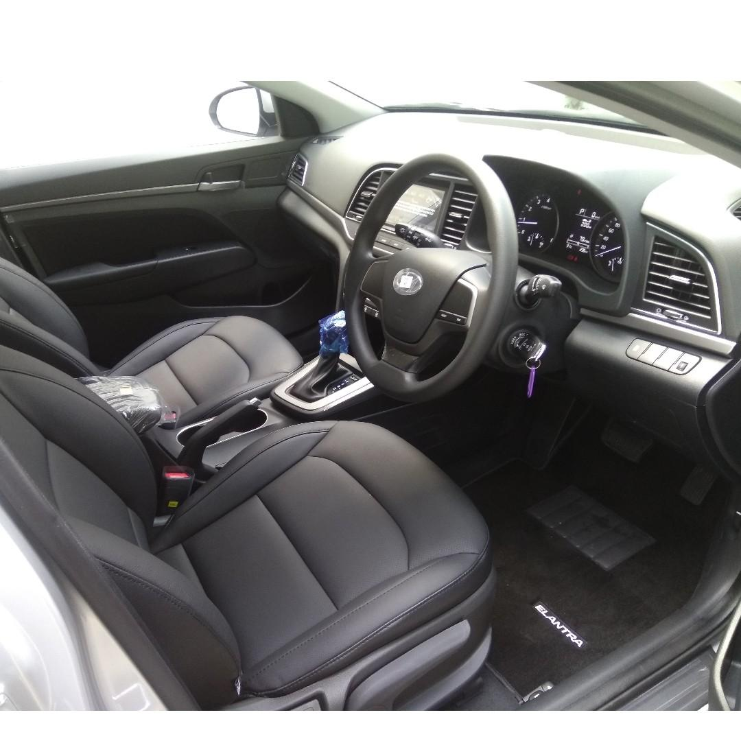 Hyundai Elantra for personal usage, corporate leasing or private hire purpose.