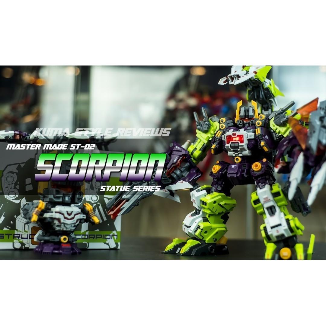 New Transformers Master Made SDT-04 Destruction Scorpion Scorponok In Stock