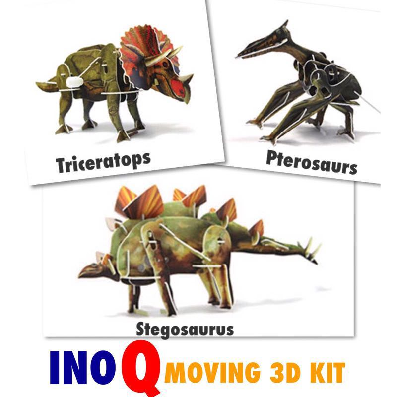 INOQ Moving 3D kit- 3 Dino Designs Avail