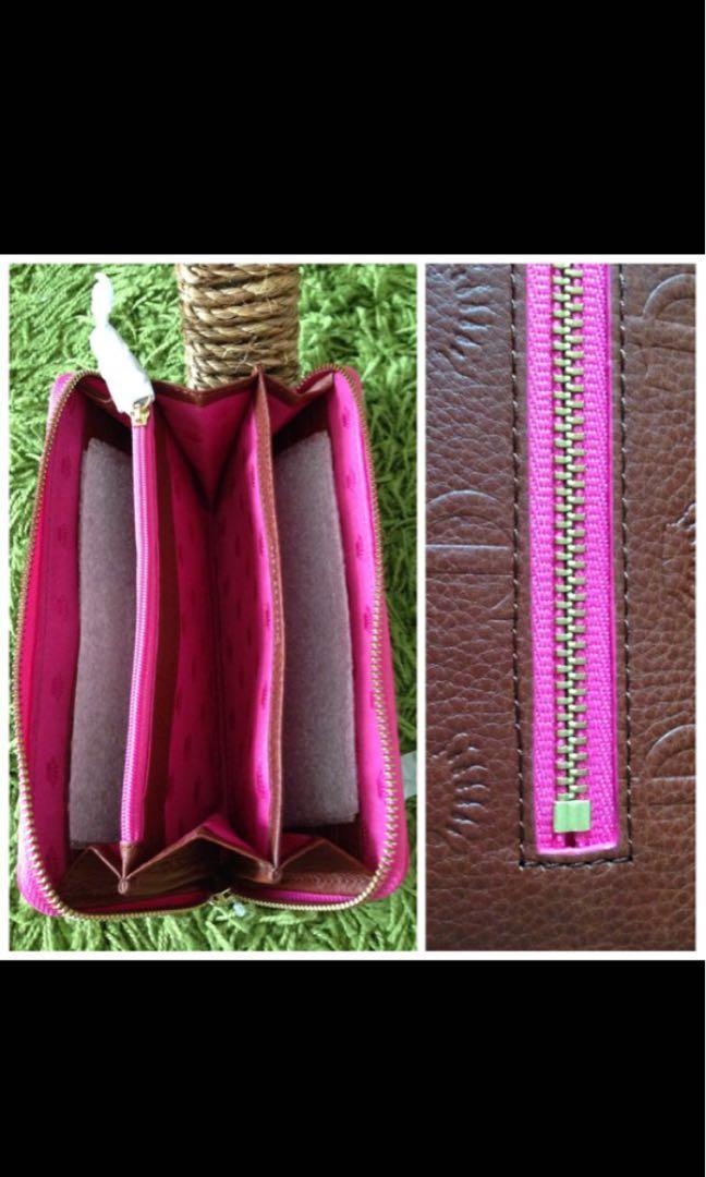 Juicy Couture Everyday Essential Zip Around Wallet