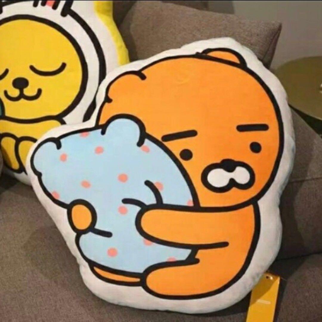 🇰🇷韓國Kakao FriendsRYAN抱枕靠垫#