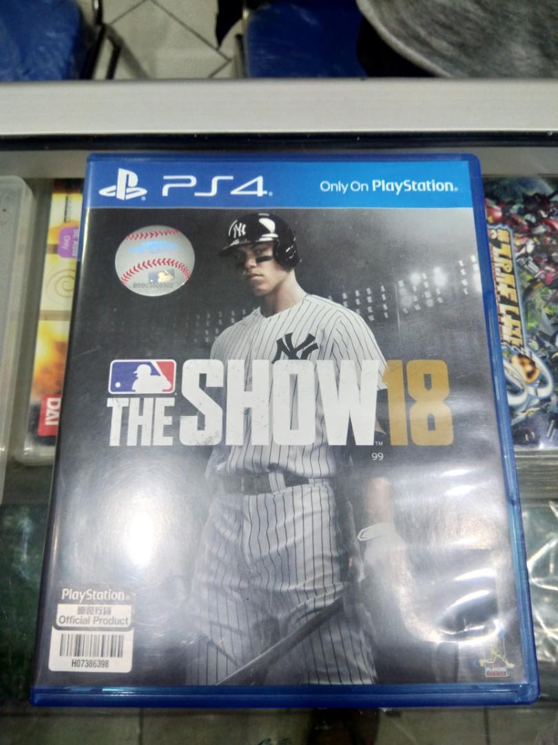 Kaset BD PlayStation 4 PS4 MLB The Show 18