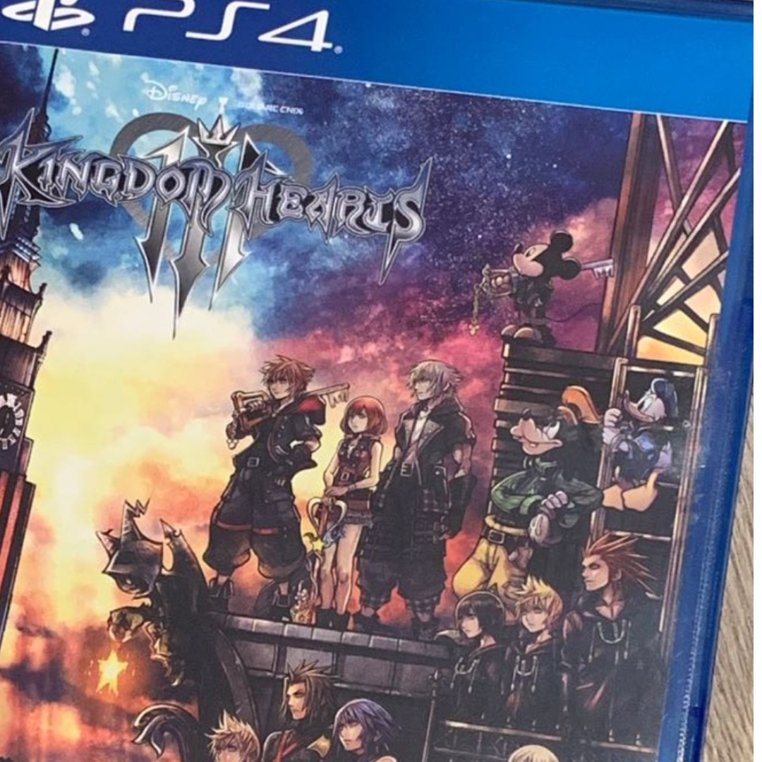 Kingdom Hearts 3 PS4, Toys & Games, Video Gaming, Video