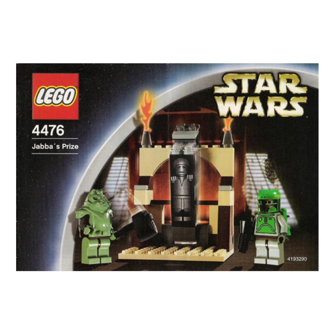 Lego Star Wars Jabbas Prize 4476 Toys Games Bricks Figurines