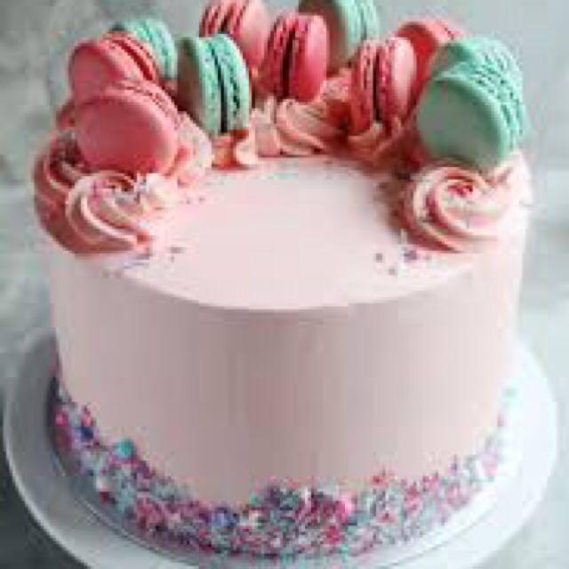 Terrific Macaron Cake Birthday Cakes Custom Customised Cake Food Drinks Funny Birthday Cards Online Elaedamsfinfo