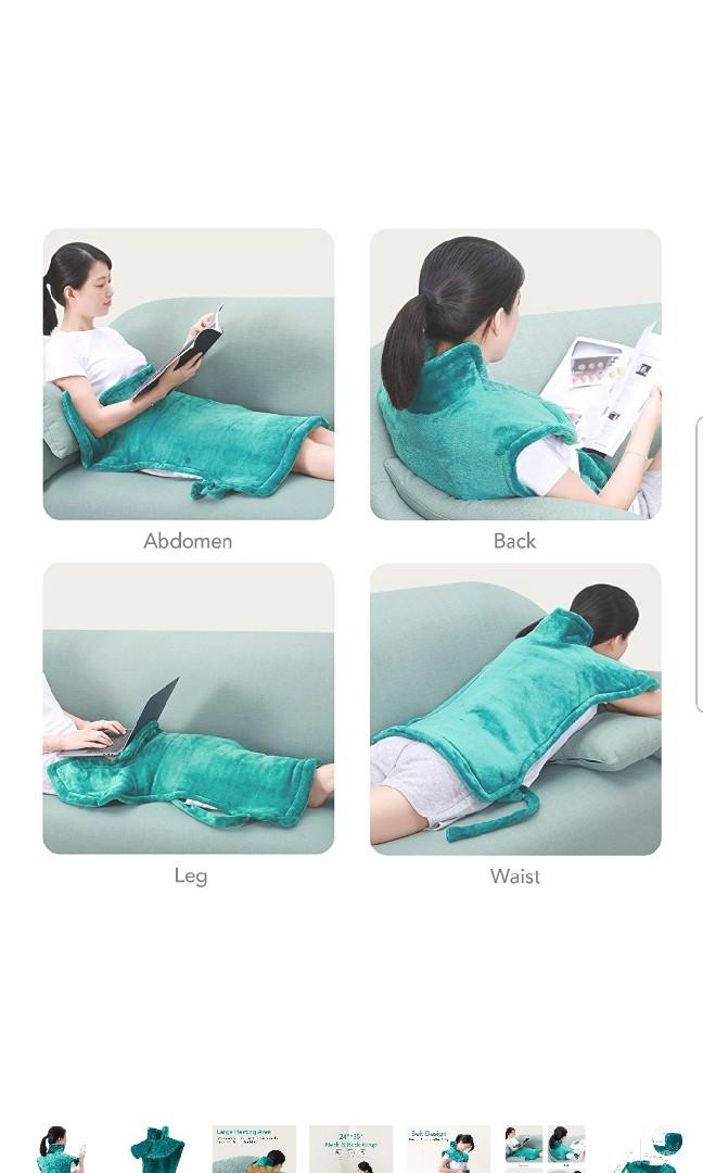 Maxkare Electric Heating Pad Neck Shoulder and Back Heating