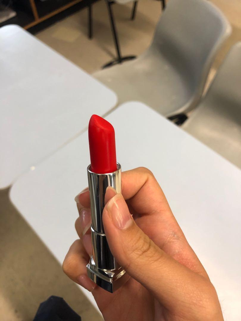 Maybelline The Powder Mattes Red-Dy Red
