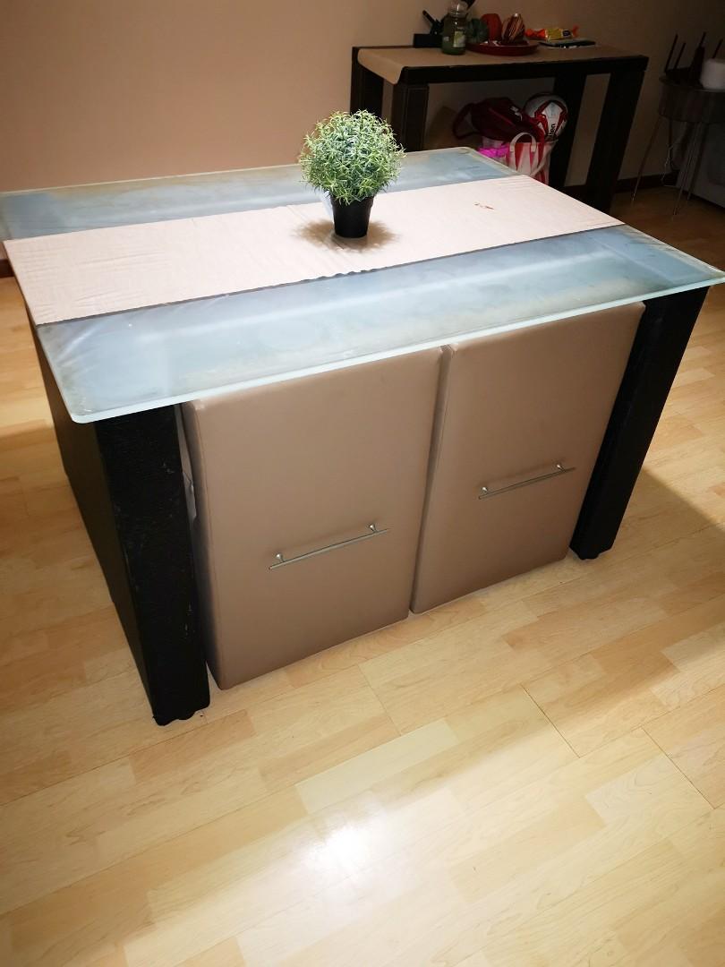 Ebern Designs Sabah Space Saving Extendable Dining Table ...