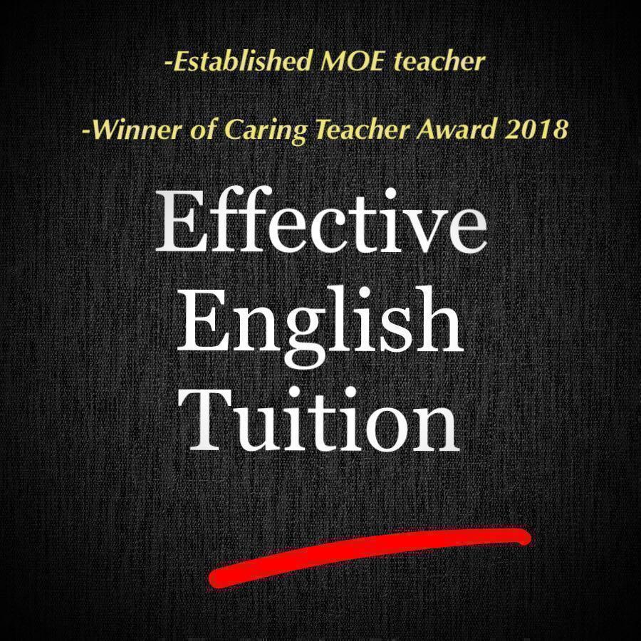 MOE Teacher Offering English Tuition (Mobile: 98487343)
