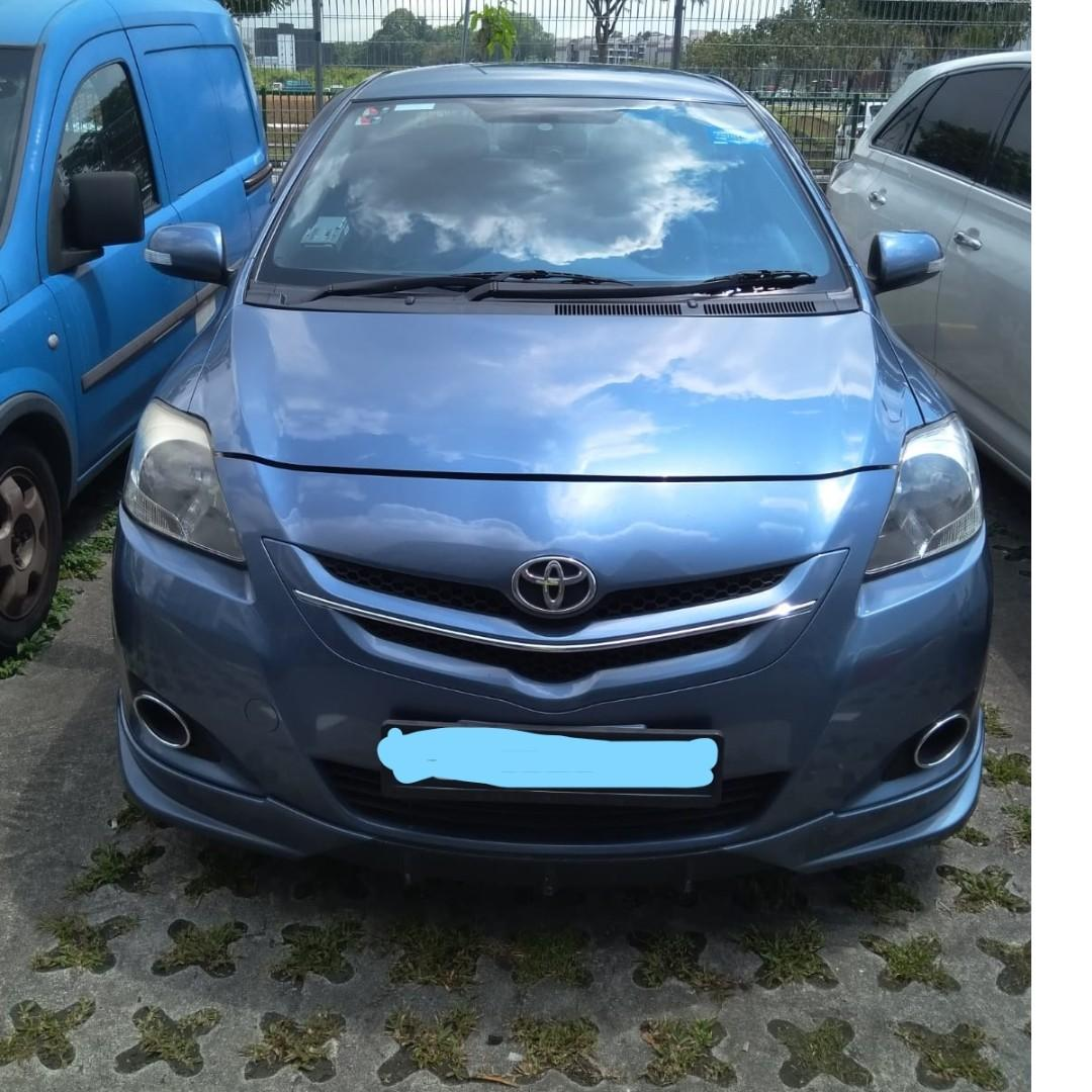 Monthly /3 Monthly Toyota Vios ( Personal-Grab-Gojek )