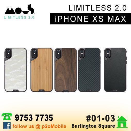 new concept 3a80e 790ce Mous Limitless 2.0 for iPhone XS Max