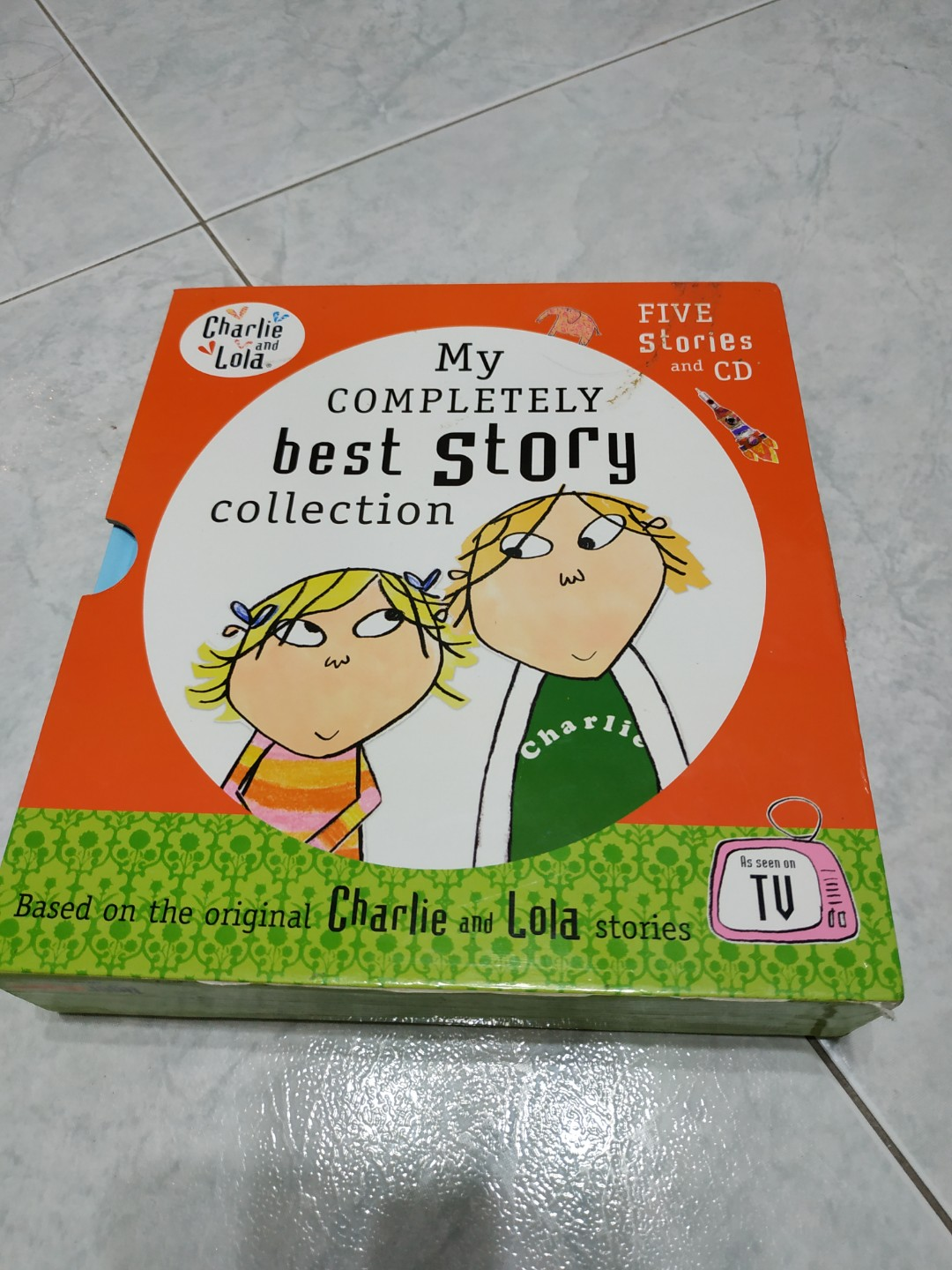 My completely best story collection of Charlie and Lola with audio cd