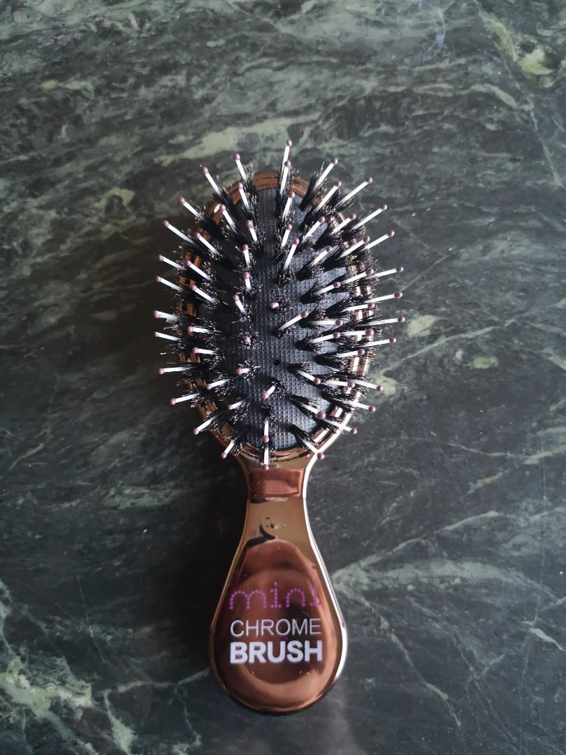 NEW Mini Chrome Brush! (Sold out at Saks 5th Avenue online )