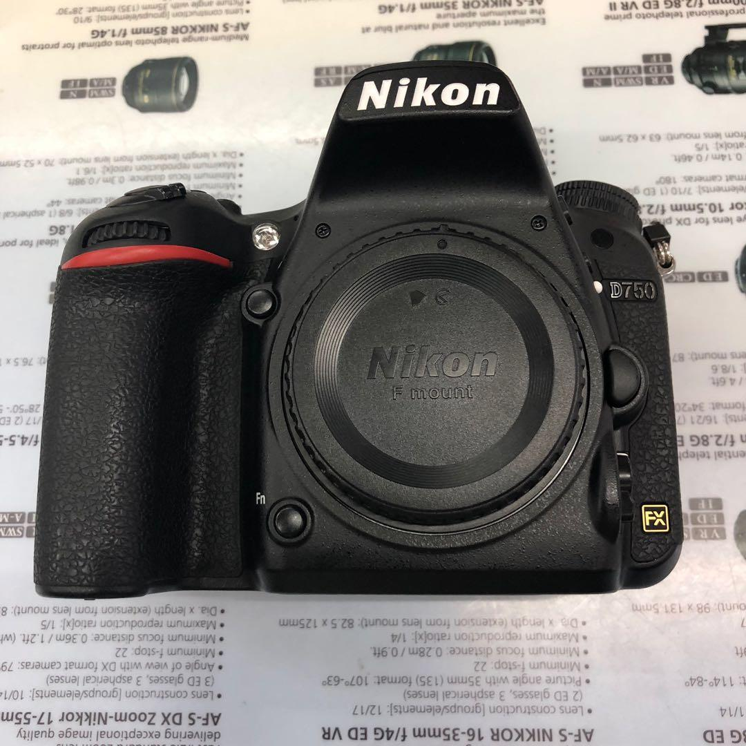 Nikon D750 body, Photography, Cameras, DSLR on Carousell