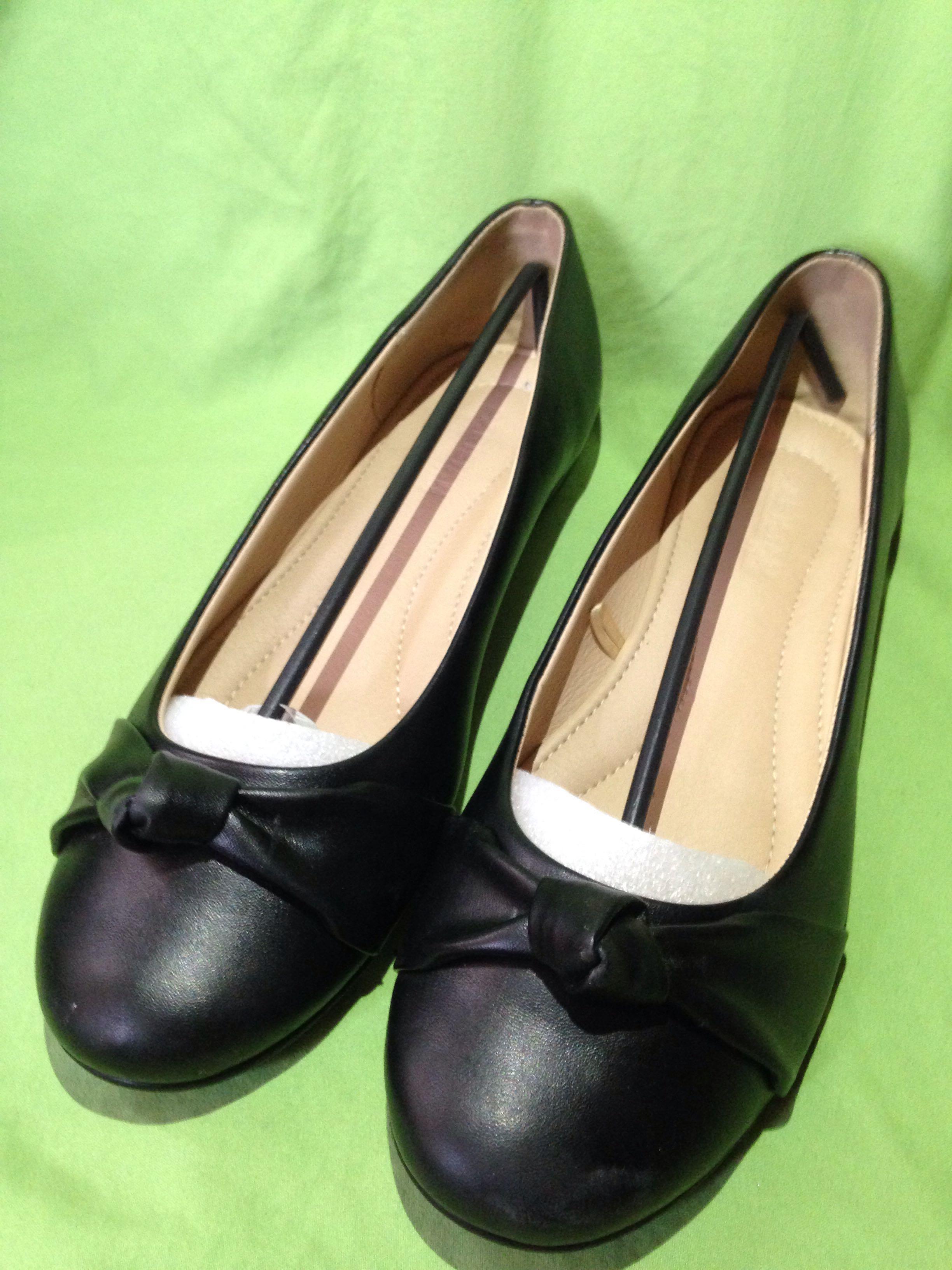 Parisian Plus Black Shoes (S11), Women