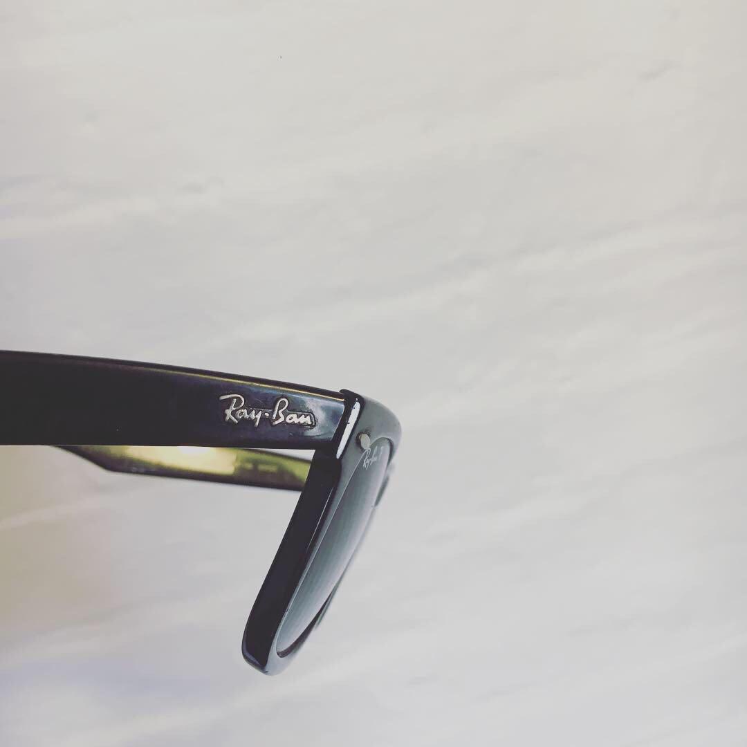 Ray Ban Black Sunglasses | Polarised | Unisex | In Good Condition