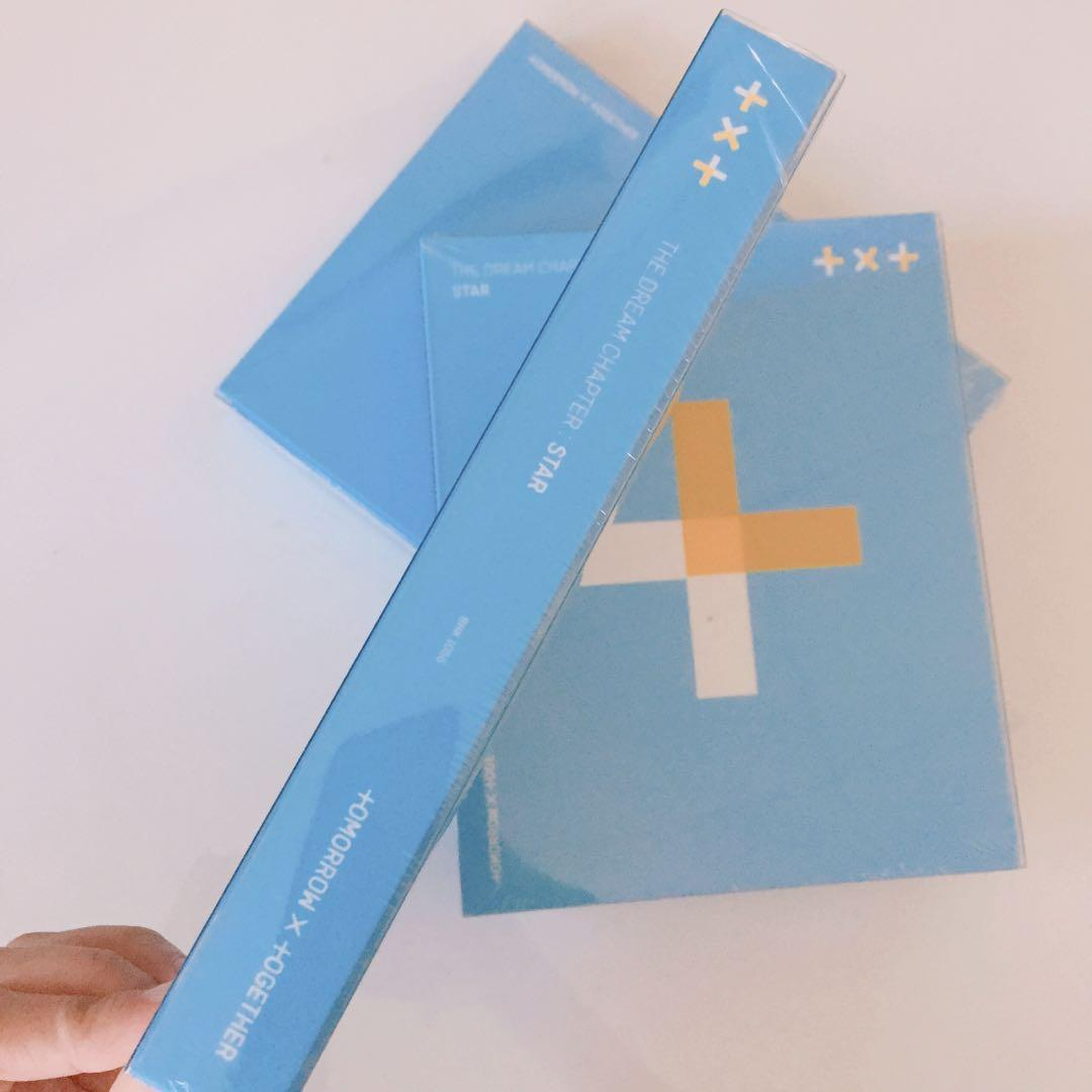 [READYSTOCK-SEALED] TXT(TOMORROW X TOGRTHER) - THE DREAM CHAPTER: STAR