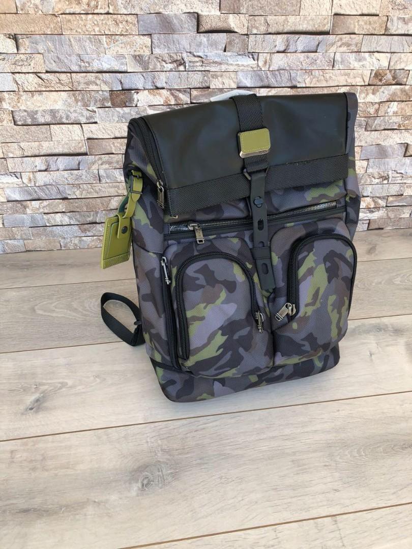 restok Tumi 222388 Alpha Bravo Luke Roll -Top Backpack,  w34xh50xd13.5cm   H @1.3jt  Berat 1kg
