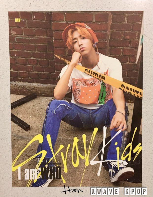 STRAY KIDS {I AM WHO} - Official Bromide Mini Poster - SELECT MEMBER FELIX