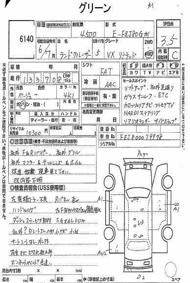 TOYOTA LAND CRUISER FZJ80G 1994(價錢面議)
