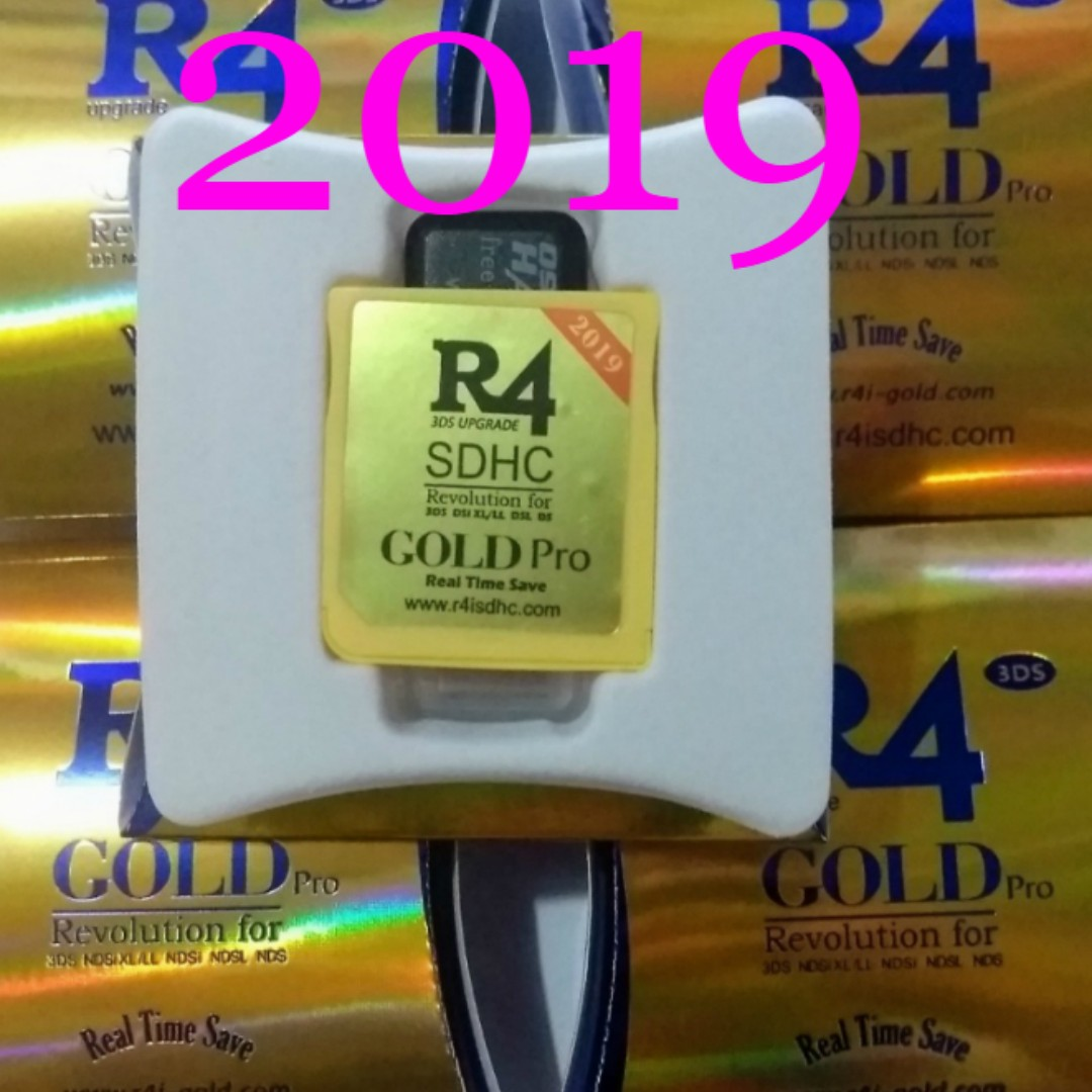 R4 Gold Pro Firmware