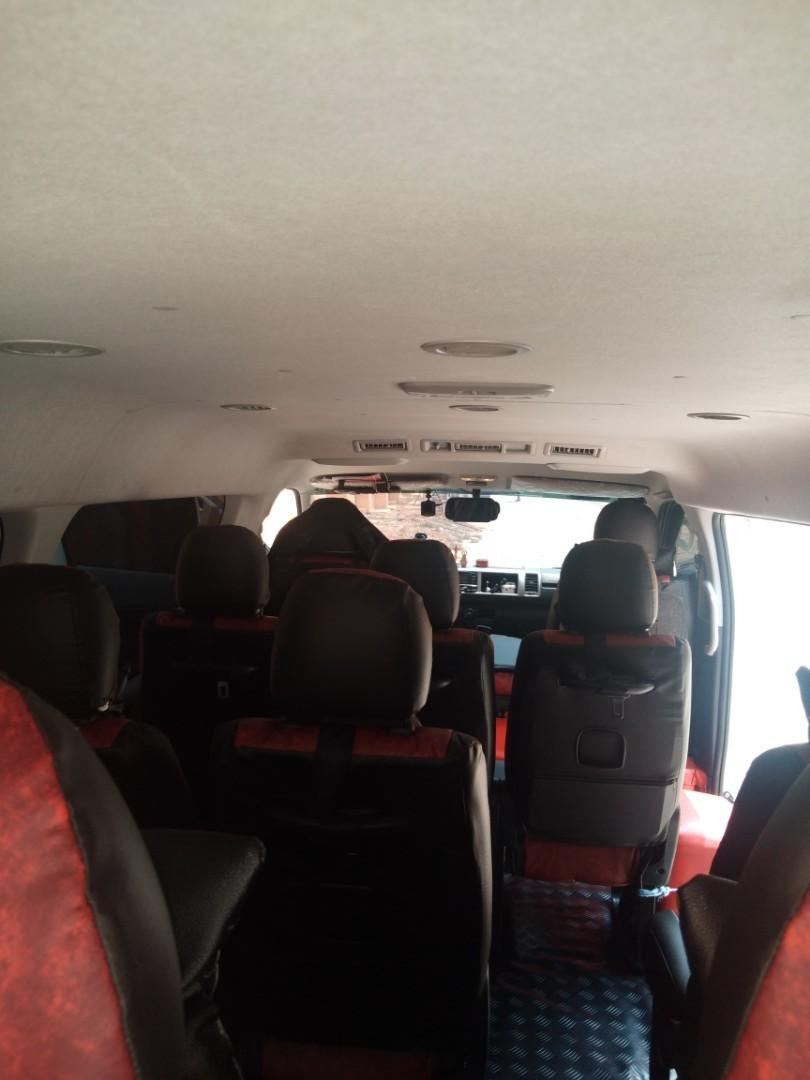 Van for rent, accept all mmanila and provincial trips,.09395397642