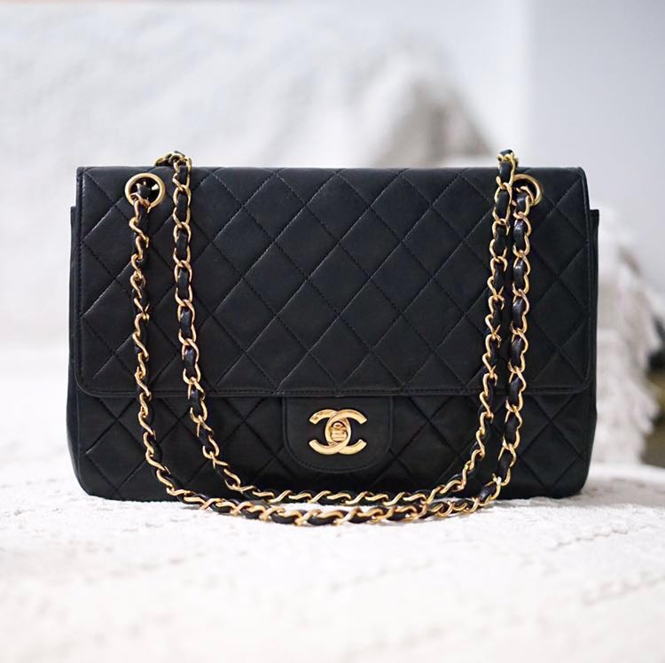 eeeac474db69 Vintage Chanel Double Flap Bag, Luxury, Bags & Wallets, Handbags on ...