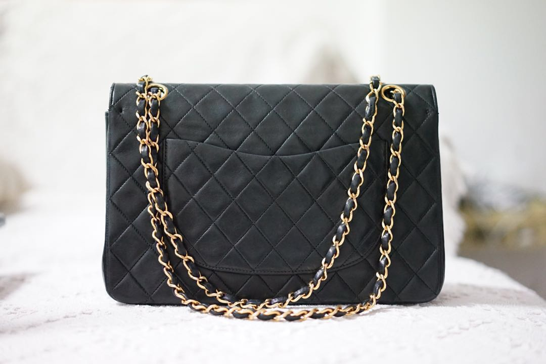 3bd8bdc46c1d Vintage Chanel Double Flap Bag