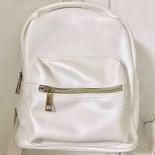 Pearl White Bag / Haversack