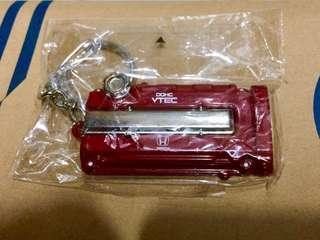 本田 HONDA TYPE R VTEC VTI FD2 civic metal plate 紅盤頭 匙扣 keychains not inno tomica