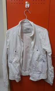 LOGO JEANS Sporty White Jacket M/L