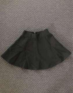 CLEARANCE SALE H&M Black Skater Skirt