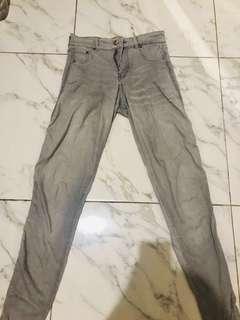 P&B skinny jeans (grey)