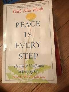🚚 Peace is every step - Thich Nhat Hanh