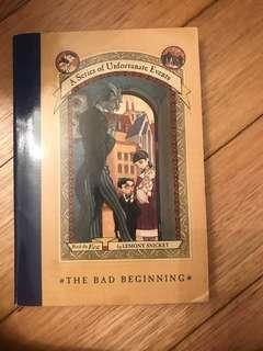 🚚 A series of unfortunate events - the bad beginning
