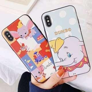 小飛象 dumbo iPhone Case 浮雕軟殼